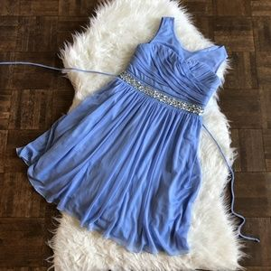 Speechless Girls Sz 12 Blue Sleeveless Party Dress